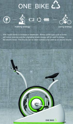 One Bike, velo electrique hybride