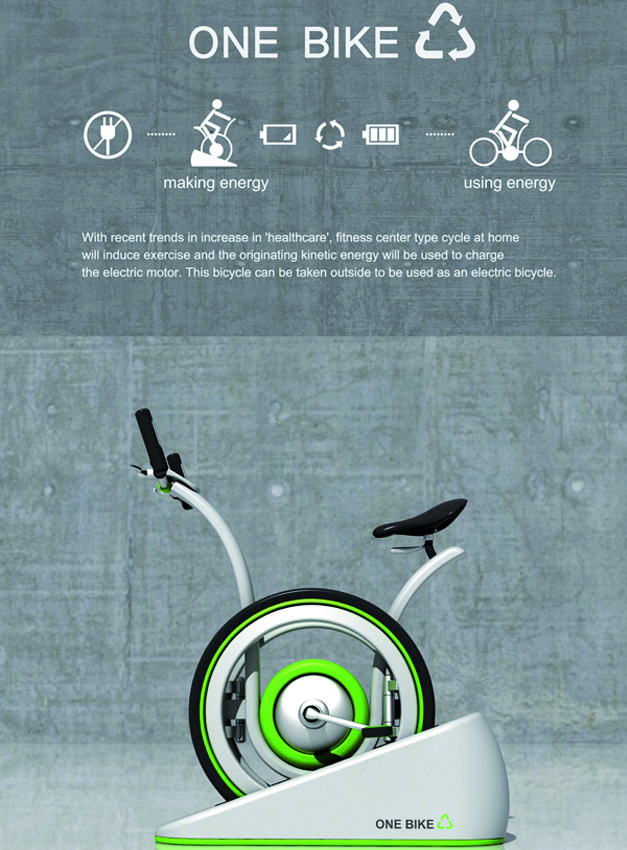 One Bike, velo electrique hybride