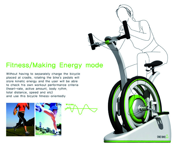 Velo fitness innovant