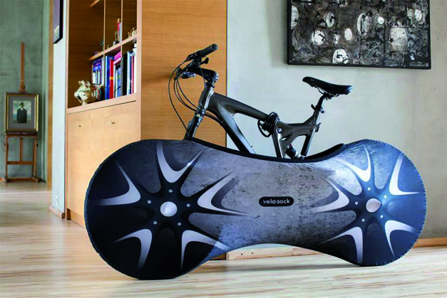 la chaussette pour v lo velo sock v lo et design. Black Bedroom Furniture Sets. Home Design Ideas