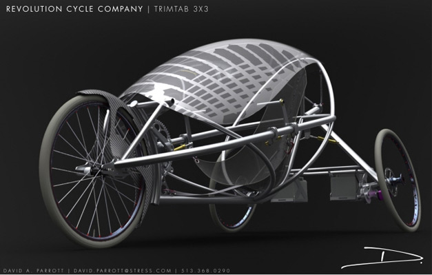 Tricycle couche electrique protege