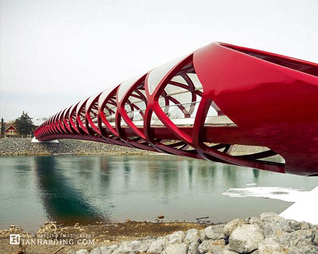Architecture velo et pieton