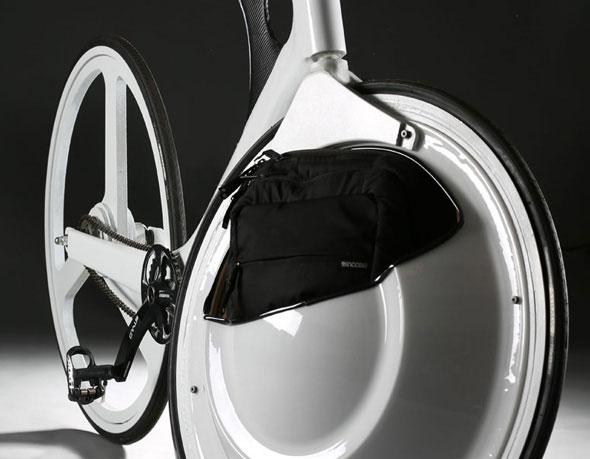 Coffre de roue pour velo