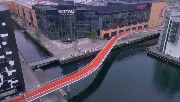 Cyclesnake, autoroute pour velo au Danemark