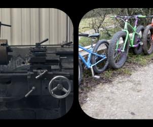 Fabrication fatbike Salamandre