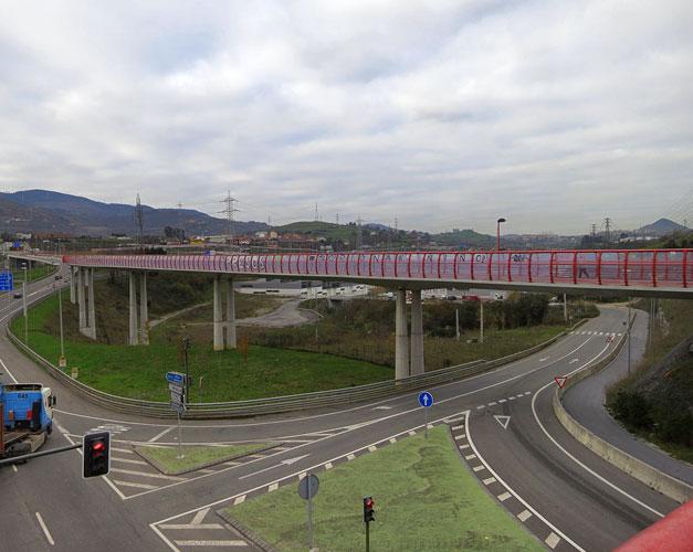 Pont securite pour cyclistes