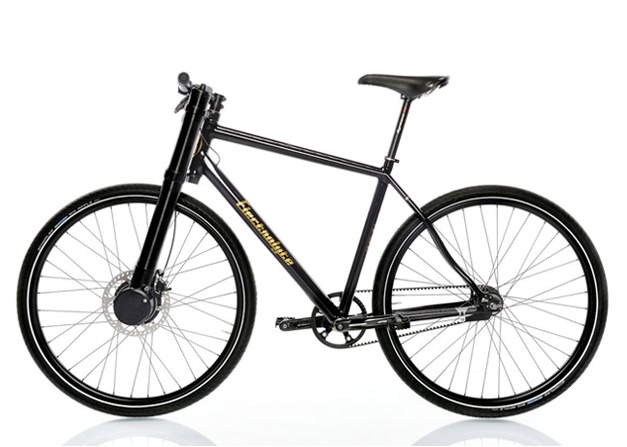 Electric urban mountain bike