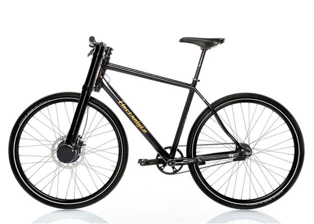 Electric urban mountain bike