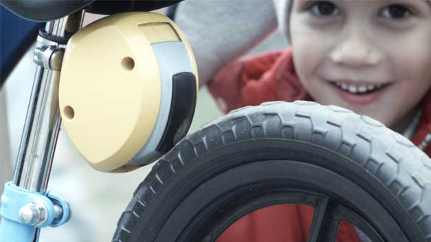 Frein innovant pour velo enfant
