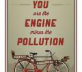 Moins de pollution a velo