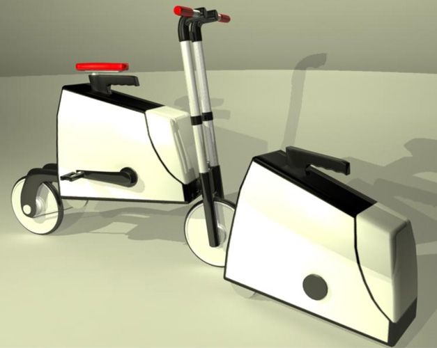Speed modeling bicycle