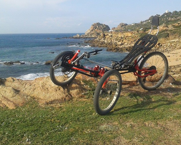 Trike artisanal fait au Maroc