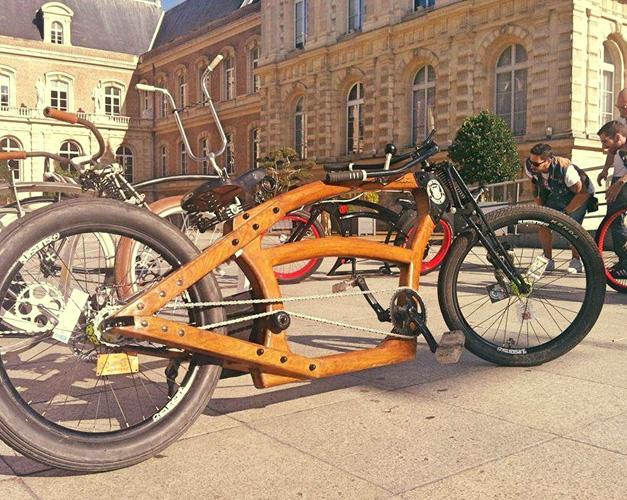 Woodnbike cruiser