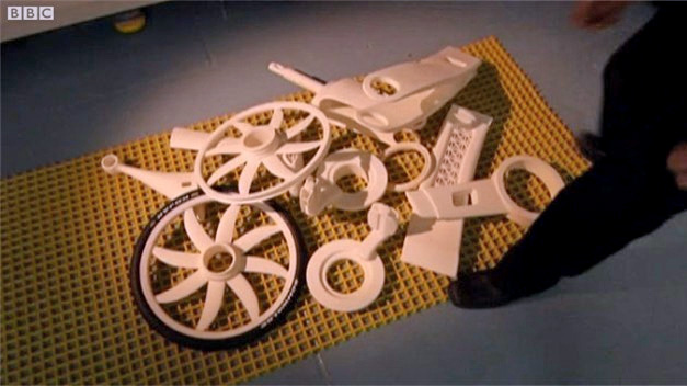 Velo en kit a imprimer en 3D