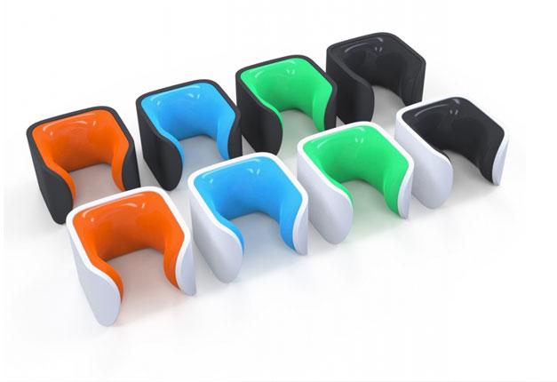 Clug porte-velo minimaliste