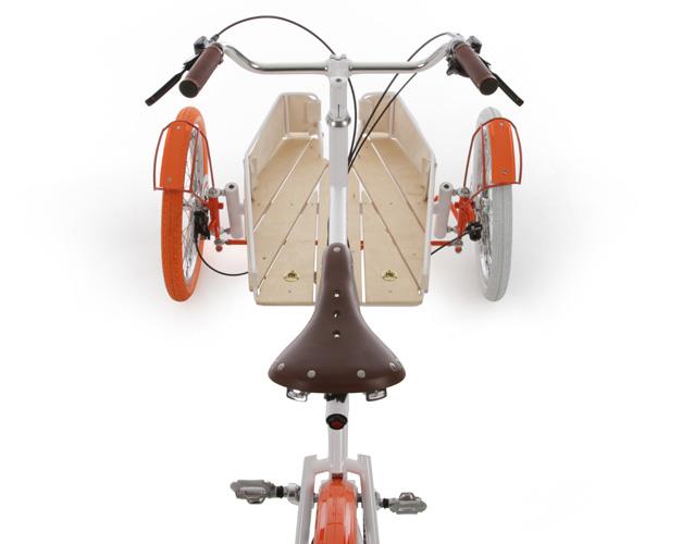 Cargo bike en bois