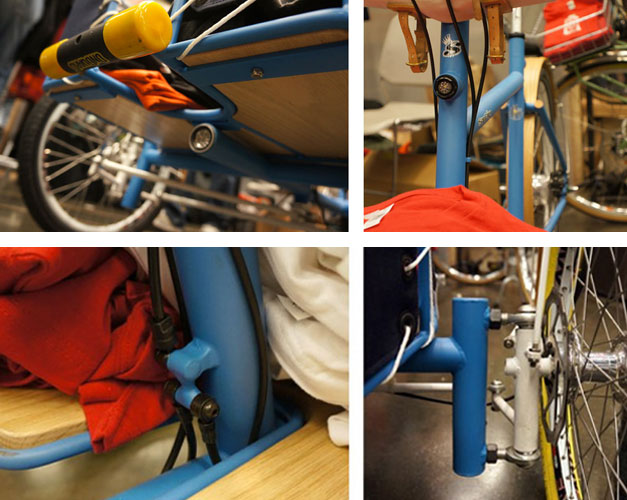 Technical details of a cargo bike