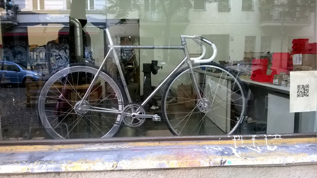Fixie a courroie