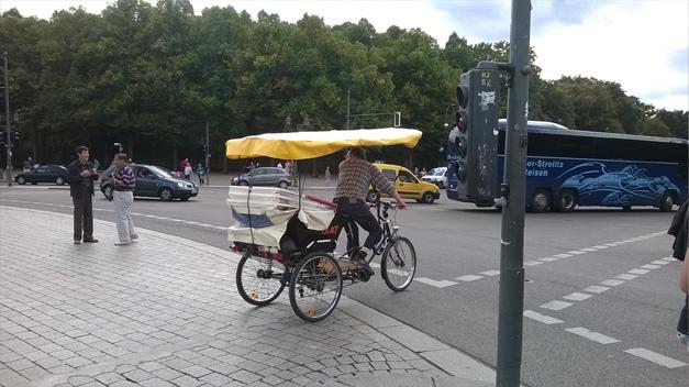 Velo de tourisme a Berlin