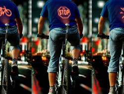 Signaux lumineux cycliste