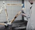 Procede de peinture pour velo Colnago