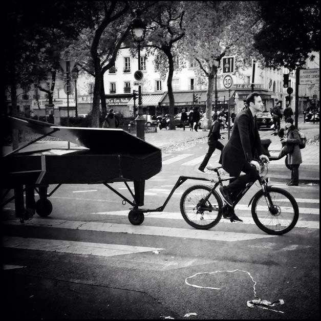 Velo et piano au Bataclan : liberte