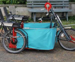 Velo pour fauteuil roulant