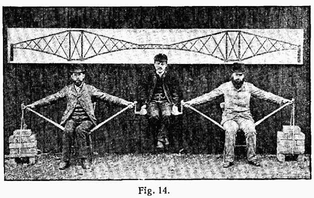 Cadre de velo inspiration par architecture pont