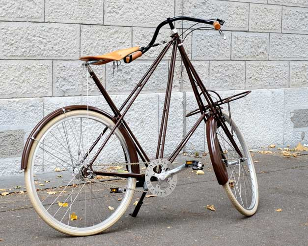Weirdest bicycle in the world
