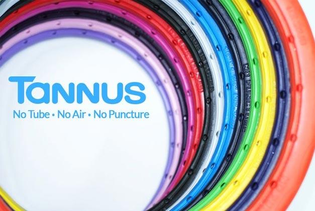 Pneu couleur pour velo Tannus