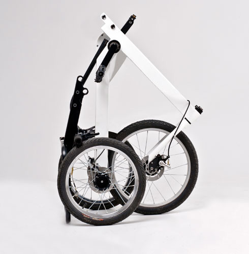 Tricycle urbain pliant