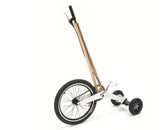Halfbike, prototype Kickstarter