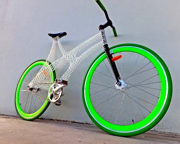 Additive manufacturing bicycle frame