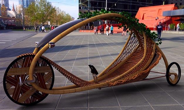 Concept bike couche en bambou Ajiro