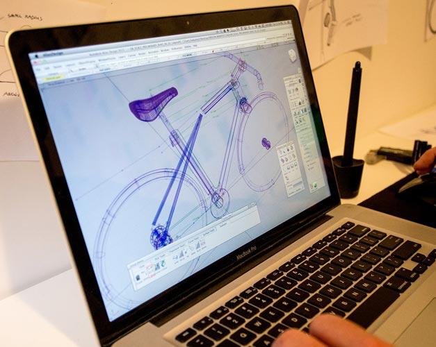 Conception de velo par ordinateur