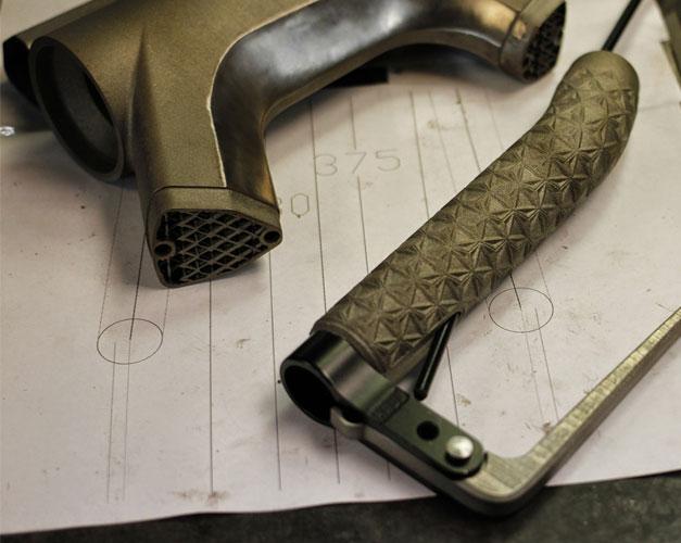 Fabrication additive de pieces de velo en titane