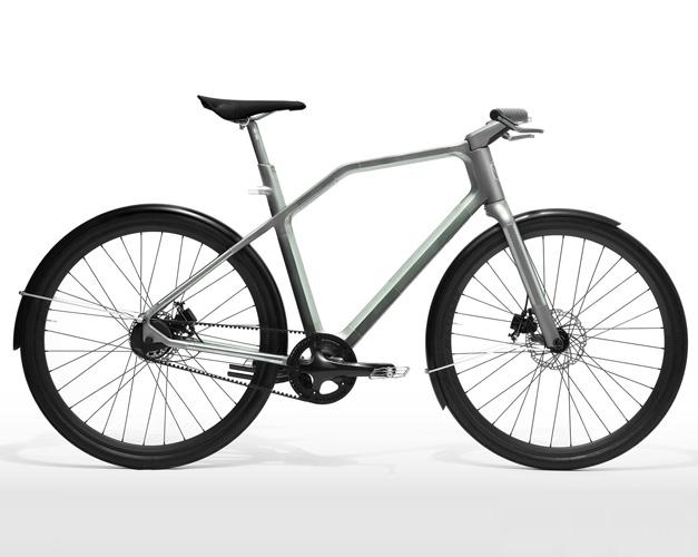Velo en titane imprime Solid Bike
