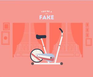 Fake rider