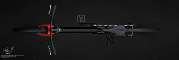Behance concept bike black