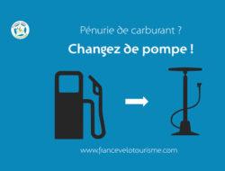 Pompe a essence ou a velo