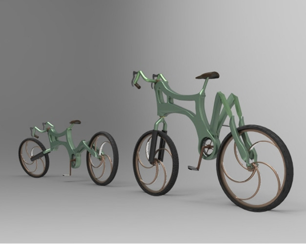Biomimicry bicycle concept