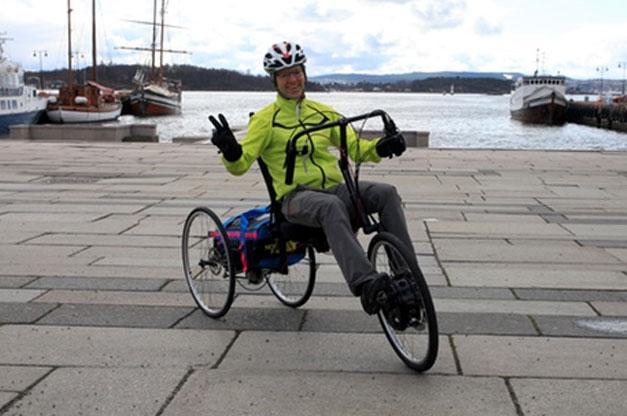 Direct drive recumbent bike