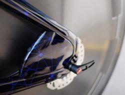 Protection aerodynamique de disque velo