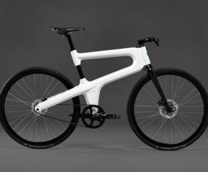 Mokumono innovative bike frame