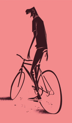 Thorsten Hasenkamm bicycle illustrations