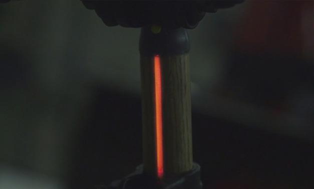 Tige de selle de velo lumineuse a LEDs