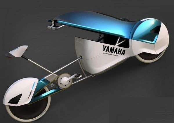 Triporteur futuriste design