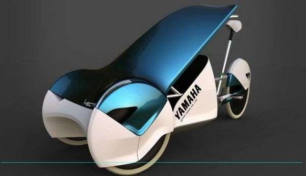 Velo triporteur aerodynamique