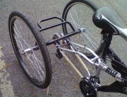 Transformer velo en tricycle