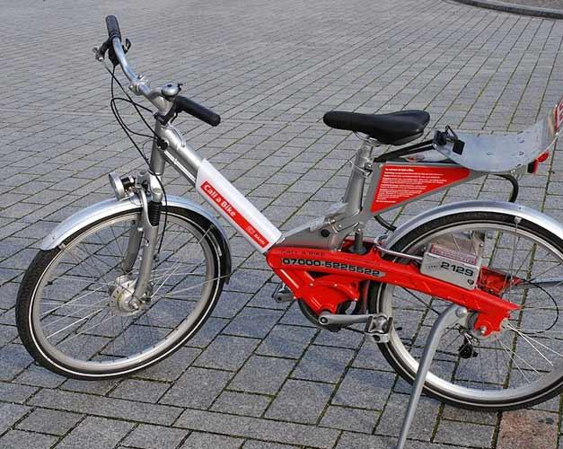 Velo libre service Allemagne, Call a Bike